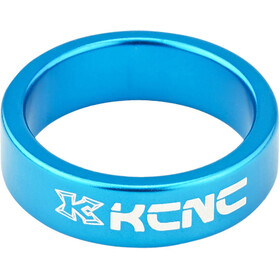 "KCNC Headset Spacer 1 1/8"" 10mm, blue"